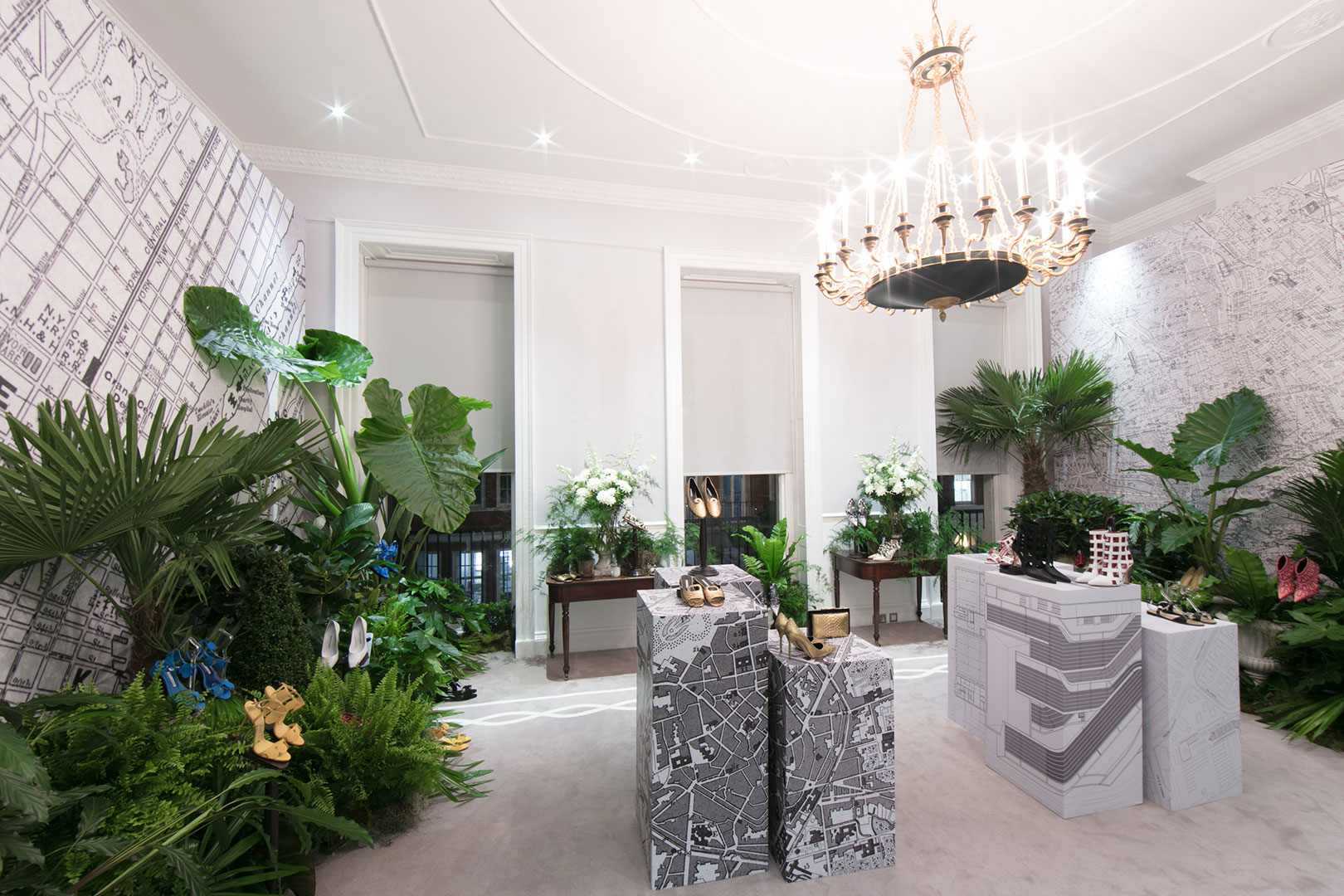 Manolo Blahnik showroom